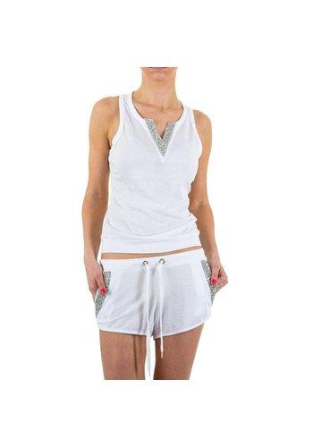 EMMA&ASHLEY DESIGN Damen Anzug von Emma&Ashley Design  - white