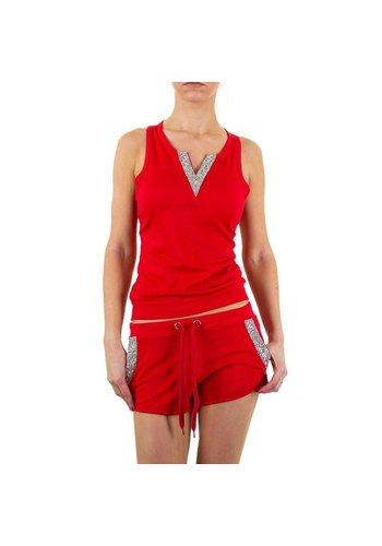 EMMA&ASHLEY DESIGN Dames pakje van Emma&Ashley Design  - rood