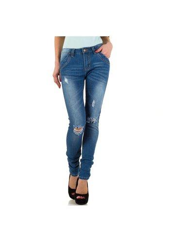 Neckermann Dames Jeans   - blauw