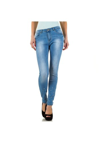 Neckermann Dames Jeans   - blauw