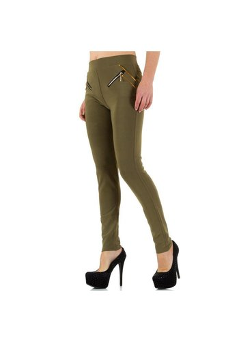 Best Fashion Dames broek van Best Fashion - khaki