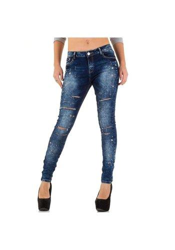 ORIGINAL Dames Jeans van Original - Donkerblauw