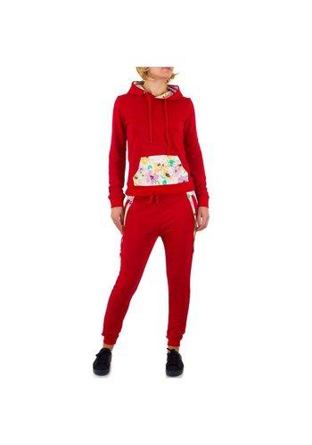 EMMA&ASHLEY DESIGN Damen Overall von Emma&Ashley Design - red