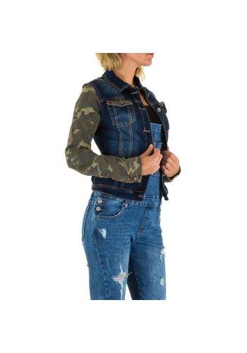 Mozzaar Damen Jacke von Mozzaar Gr. 38 - blue