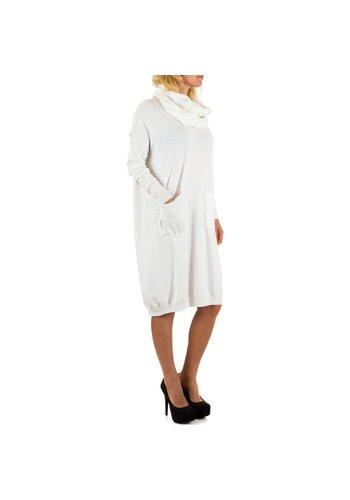 JCL Damen Kleid von Jcl Gr. one size - white