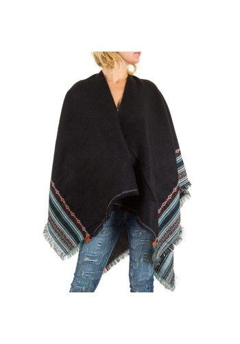 Neckermann Damen Strickjacke von Best Fashion Gr. one size - black