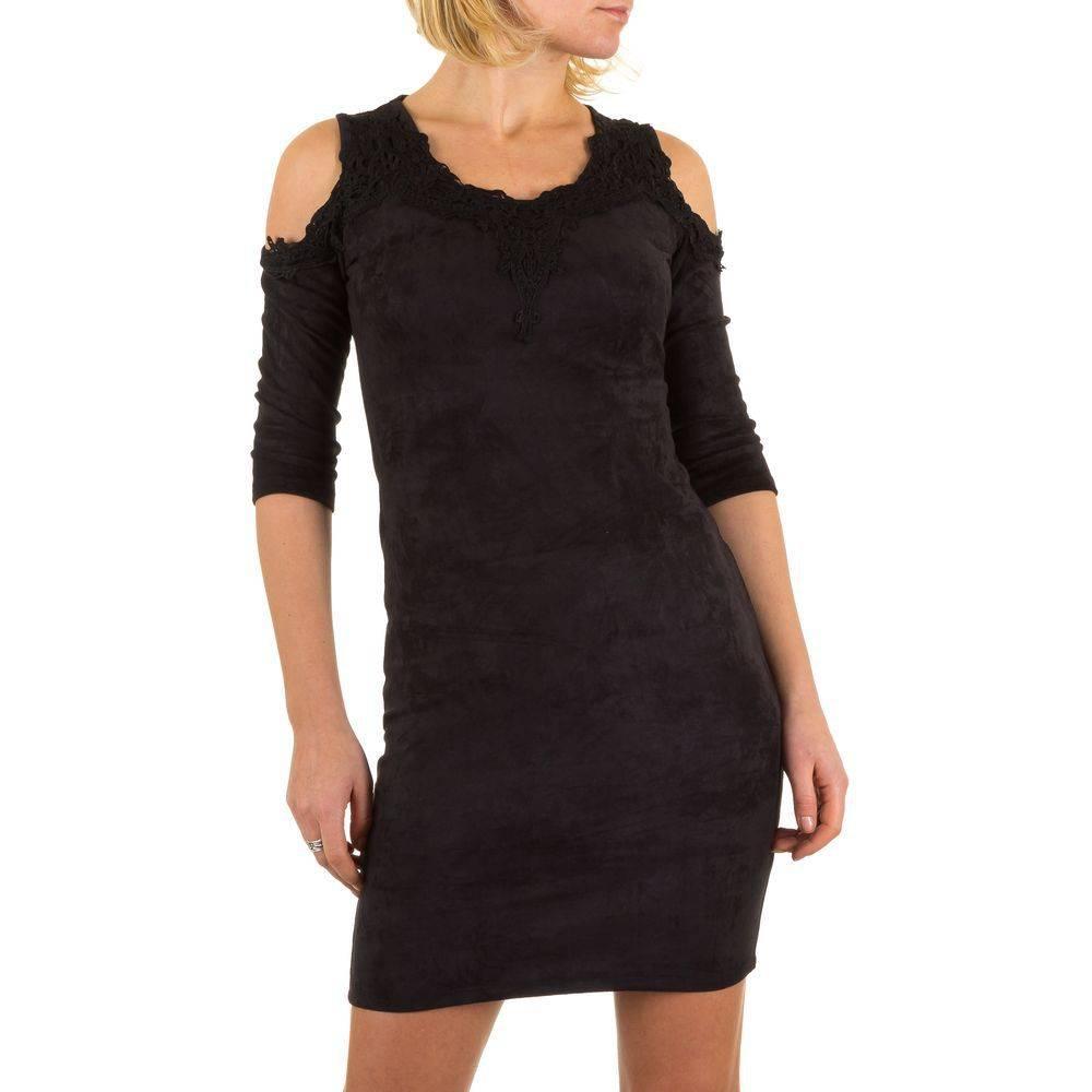 e92441bed78e3f Dames jurk - kort - zwart - Neckermann.com