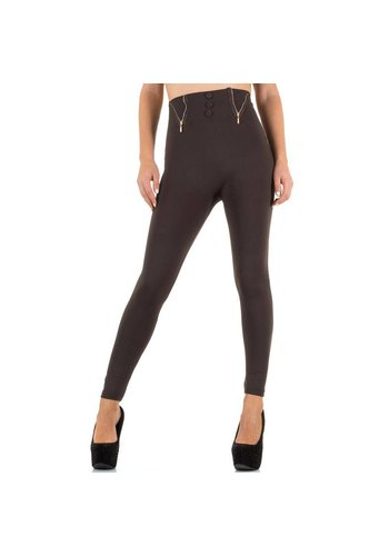 Best Fashion Damen Leggings von Best Fashion Gr. one size - brown