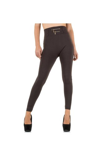 Best Fashion Damen Leggings von Best Fashion Gr. one size - taupe