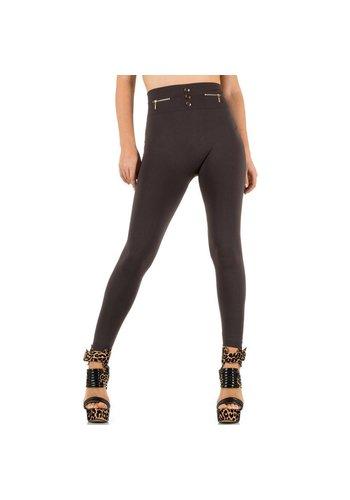 Best Fashion Dames Legging van Best Fashion - 1 maat - taupe