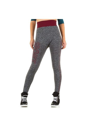 Best Fashion Damen Leggings von Best Fashion Gr. one size - bordeaux