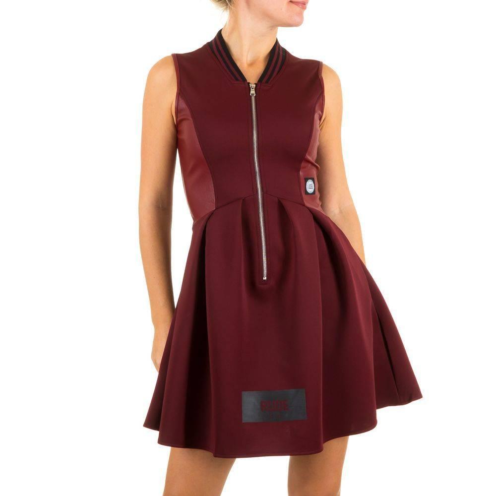 a798db1114e573 Dames jurk van Sixth June - bordeauxrood - Neckermann.com