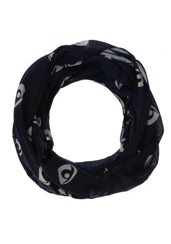 Neckermann Dames Sjaal  - 1 maat - donkerblauw