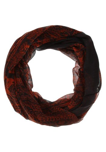 Neckermann Dames Sjaal  - 1 maat - oranje