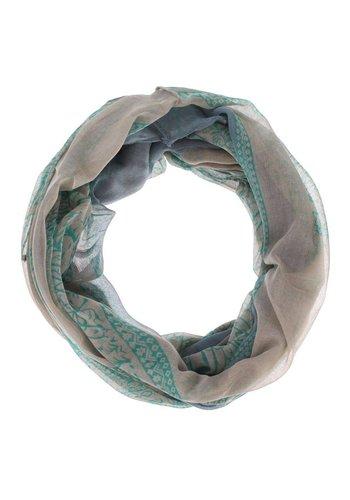 Neckermann Dames Sjaal  - 1 maat - groen