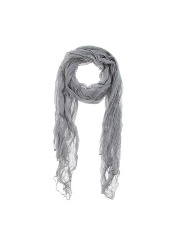 Neckermann Dames Sjaal  - 1 maat - grijs