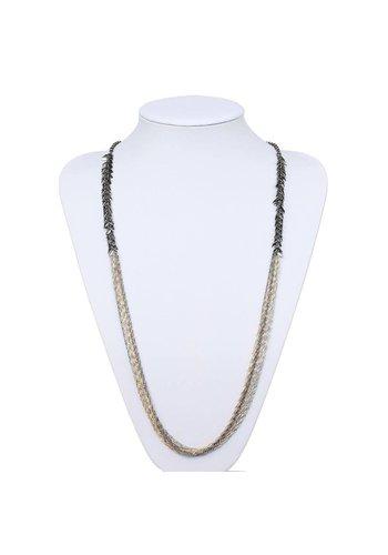 Neckermann Damen Halskette - goldsilver