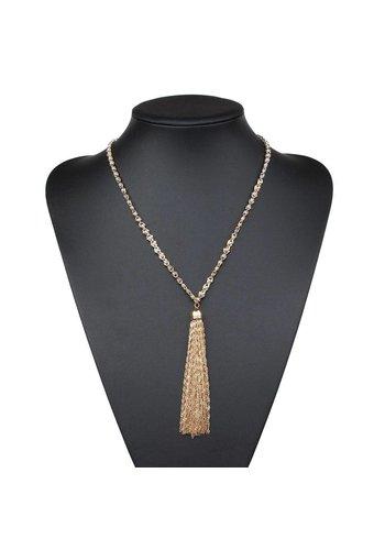 Neckermann Dames halsketting - goudkleurig