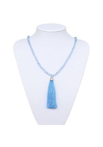 Neckermann Dames Halsketting - lichtblauw