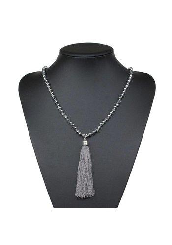 Neckermann Damen Halskette - grey
