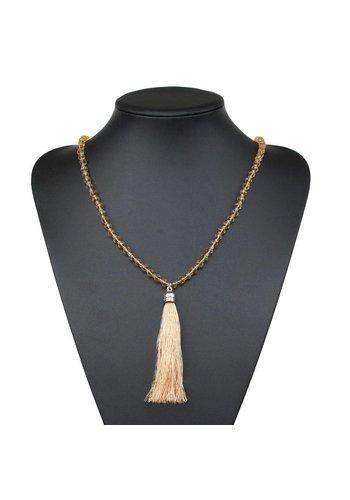 Neckermann Dames Halsketting - geel