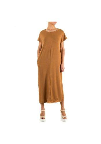 JCL Damen Kleid von Jcl - brown