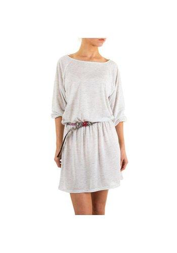 JCL Damen Kleid von Jcl - L.grey