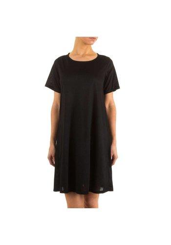 JCL Dames jurk van Jcl - zwart