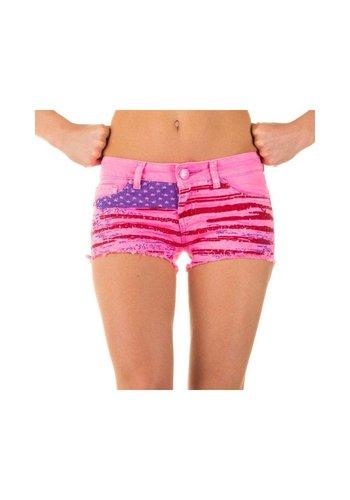 Neckermann Damen Shorts von Simply Chic - pink