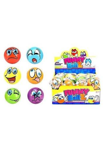 Neckermann Smiley balls - Ø10cm - 6 uitvoeringen