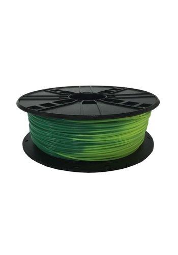 Gembird3 ABS Filament  Blue green to yellow green, 1.75 mm, 1 kg