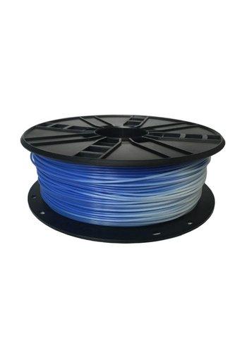 Gembird3 PLA Filament Blue to White, 1.75 mm, 1 kg