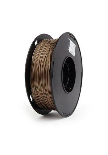 Gembird3 PLA Filament Gold, 1.75 mm, 1 kg. 'gold' metal color