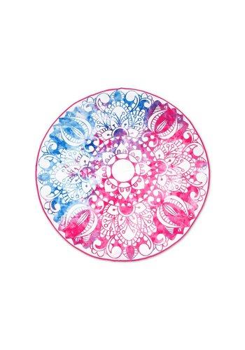 Dreamhouse Handdoek Scandinavian Duo Pink/Blue