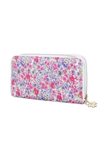 Neckermann Dames portemonee  roze gewerkt