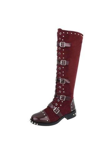 Neckermann Dames Laarzen rood