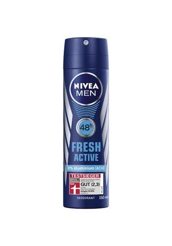 Nivea Nivea Deodorant Spray 150ml Heren Fresh Active