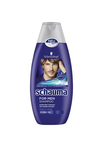 Schauma Schauma Shampoo 400ml For Men