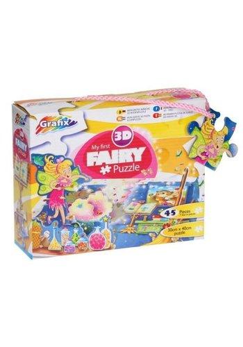 Grafix Puzzle 3D - fée - 45 pièces