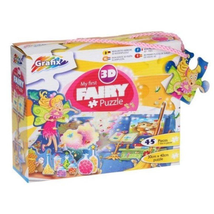 3D puzzel - fairy - 45 stukjes