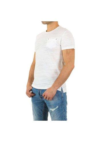 Neckermann Herren Shirt von Y.Two Jeans - white