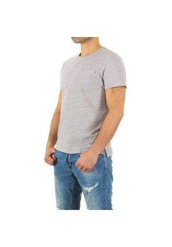 Neckermann Herren Shirt von Y.Two Jeans - lightgrey