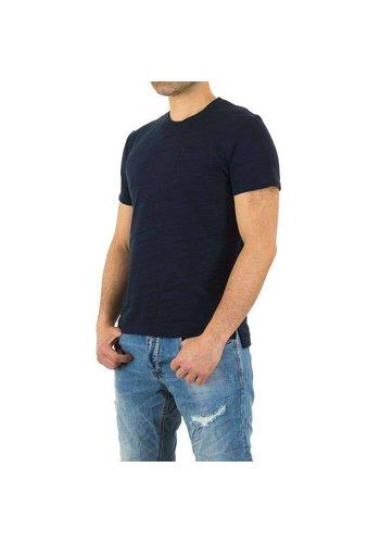 Neckermann Herren Shirt von Y.Two Jeans - deepblue