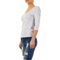Dames shirt van Usco - L.grijs