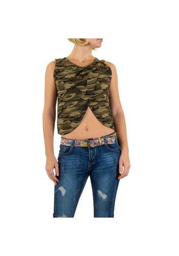 Neckermann Dames Top - camouflage