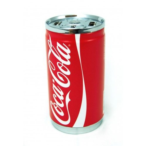 Coca-Cola Powerbank 7200 Mah, Dubbele USB - Regular