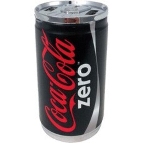 Coca-Cola Powerbank 7200 Mah, Dubbele USB - Zero