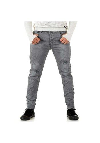 Neckermann Heren Jeans  - lichtgrijs