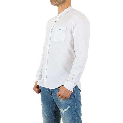 Neckermann Herren Hemd von Y.Two Jeans - white