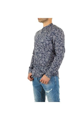 Neckermann Herren Hemd von Y.Two Jeans - gray